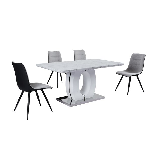 Westrick 5 Piece Dining Set by Orren Ellis