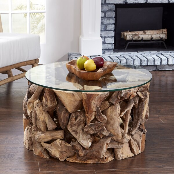 Grijalva Drum Coffee Table By Highland Dunes