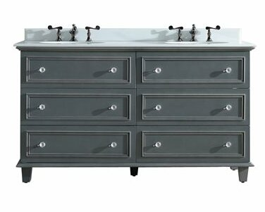 Luna 60 Double Bathroom Vanity Set by Laviva