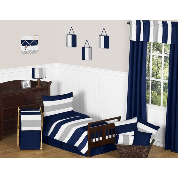 Stripe Collection 5 Piece Toddler Bedding Set by Sweet Jojo Designs