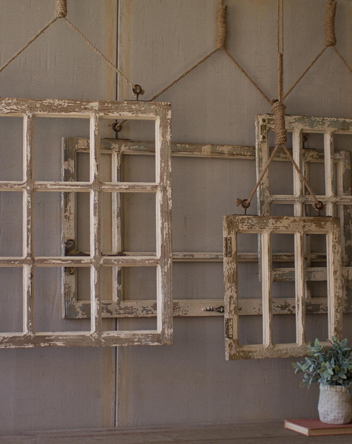 Gracie Oaks 4 Piece Window Frame Wall