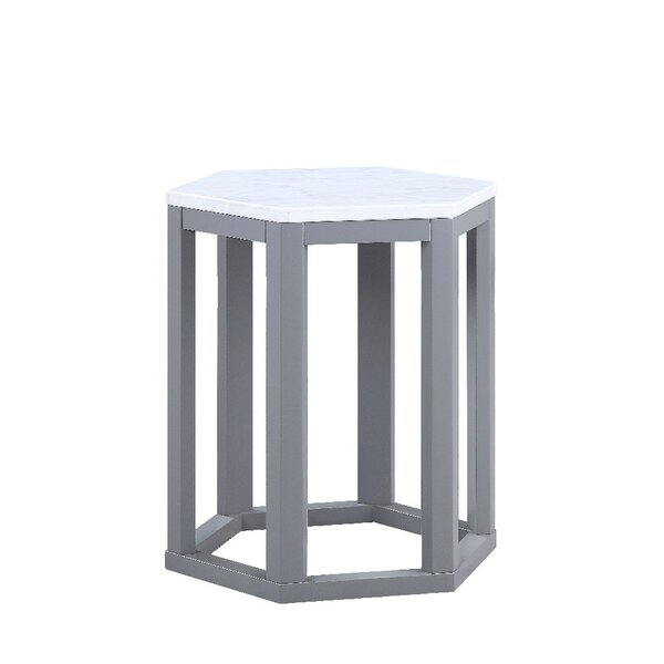 Fleck End Table (Set of 2) by Highland Dunes