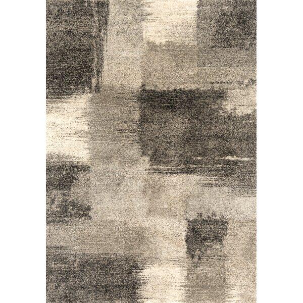 Holgate Auroa Gray Area Rug by Williston Forge