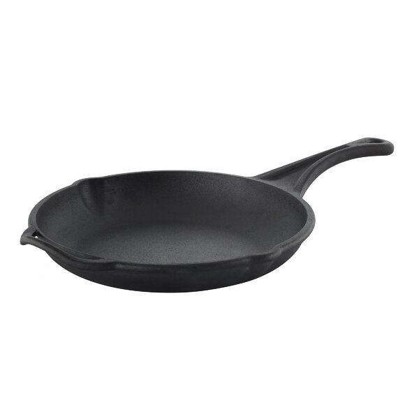 Cast Iron Rust Resistant Non-Stick Frying Pan by S