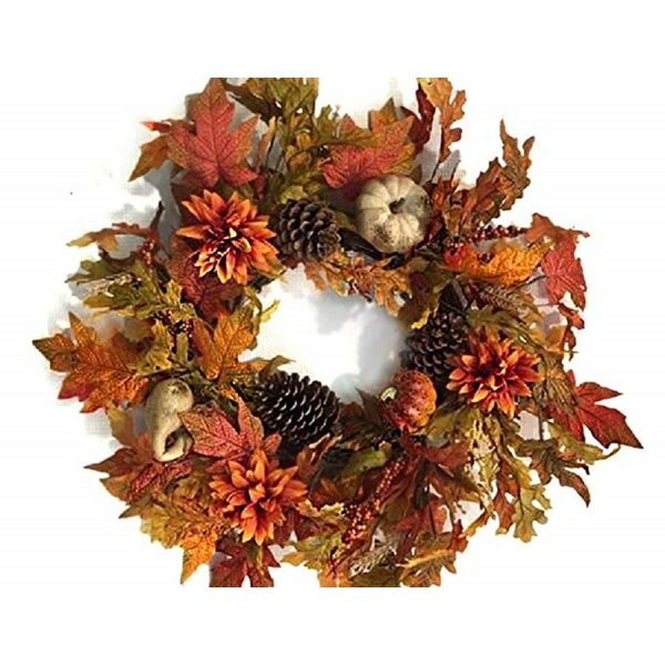 Treasures Fall Wreath by The Holiday Aisle