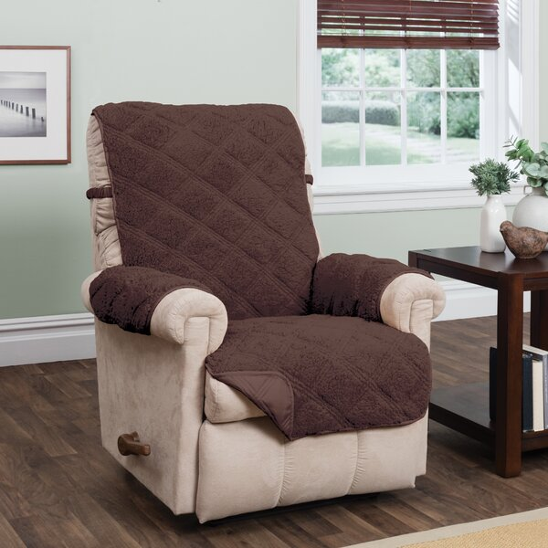 Sherpa Waterproof Recliner Slipcover by Winston Porter