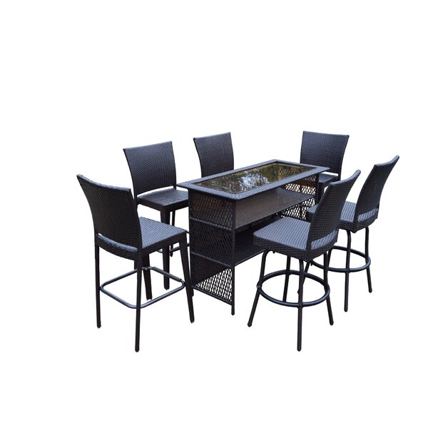 Parishville 7 Piece Bar Set by Darby Home Co