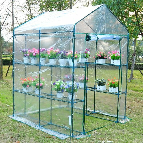 5 Ft. W x 5 Ft. D Hobby Greenhouse by Outsunny
