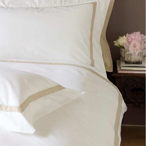 Versailles Applied Band Duvet Cover Set