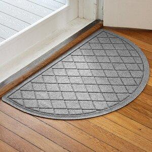 Ainaro Aqua Shield Argyle Doormat