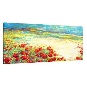 'Spring Snow' by Iris Scott Painting Print on Wrapped Canvas by Jaxson Rea