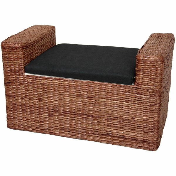 Kianna Upholstered Storage Bench by Beachcrest Home