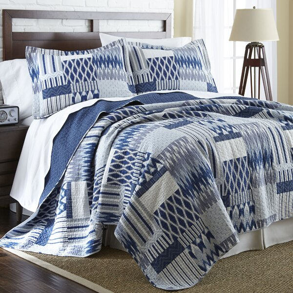 Sabin Reversible Quilt Set by Beachcrest Home