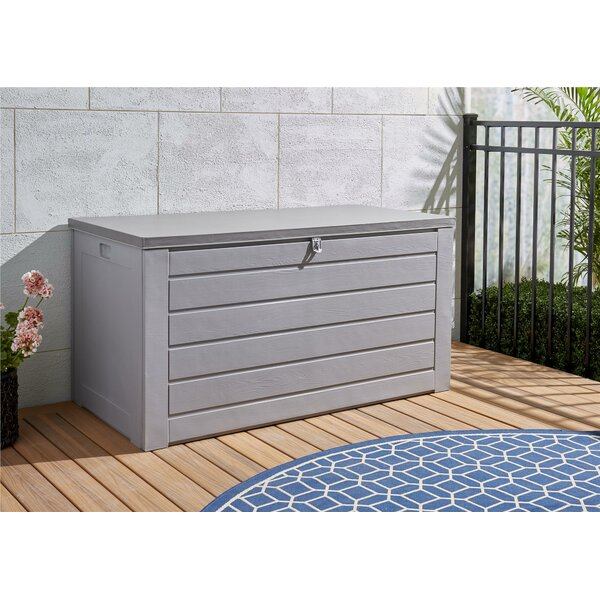 180 Gallon Plastic Deck Box By Cosco Home And Office