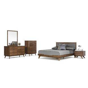 modern bedroom sets king. Hali Platform 5 Piece Bedroom Set Modern King Sets  AllModern