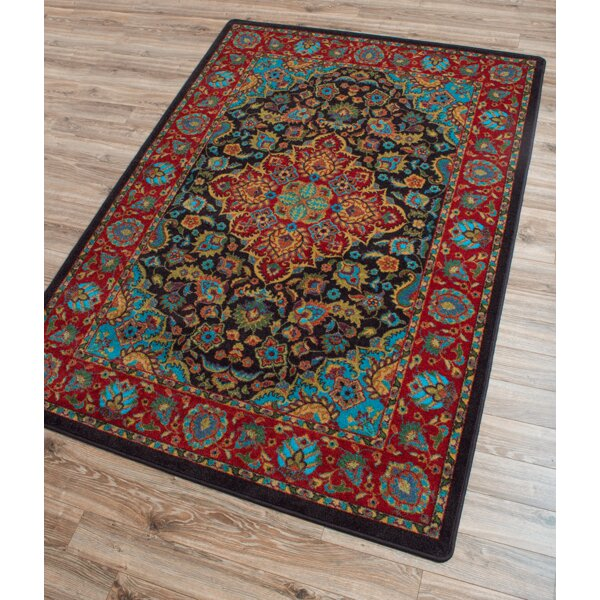 Robert Caine Montreal Desert Red/Blue Area Rug by American Dakota