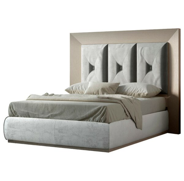 Koester Upholstered Panel Bed by Everly Quinn