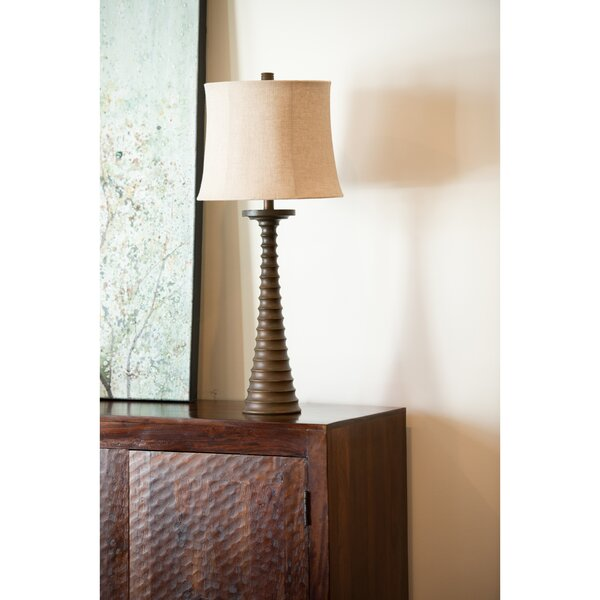 Spiral Resin 32.5 Table Lamp by Wildon Home ®