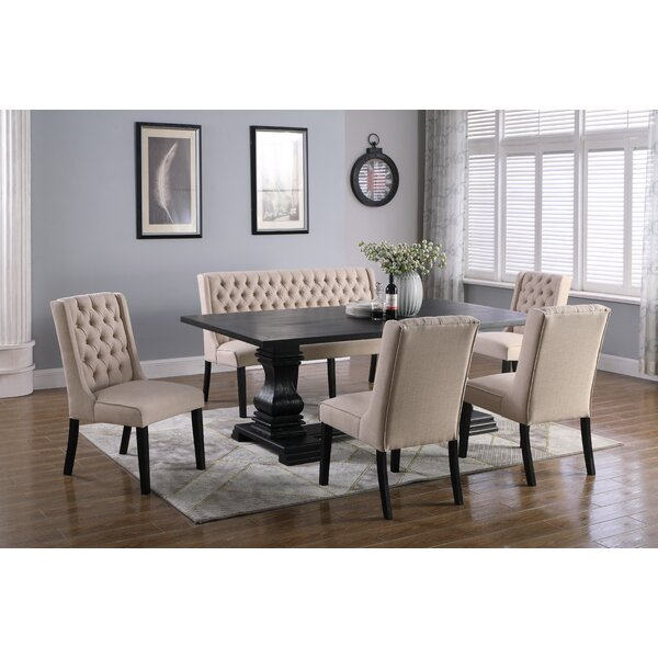 Butera 6 Piece Dining Set by Canora Grey