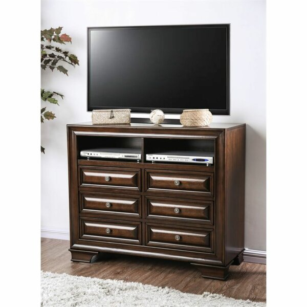 Beckles Solid Wood TV Stand For TVs Up To 48