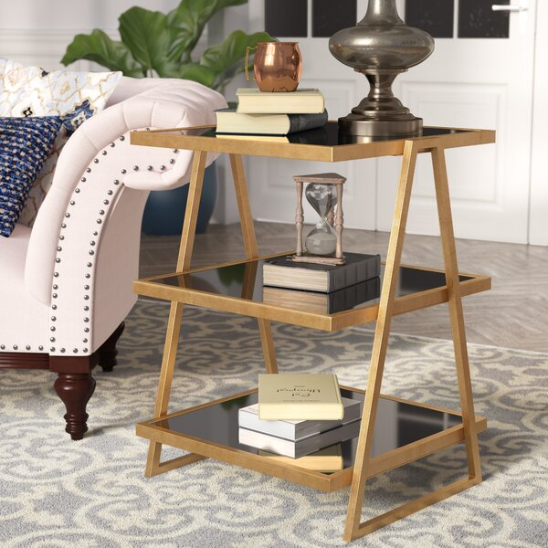 Brocklehurst Glass End Table by Willa Arlo Interiors