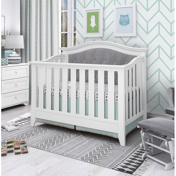 Essex 4-in-1 Convertible Crib by Harriet Bee