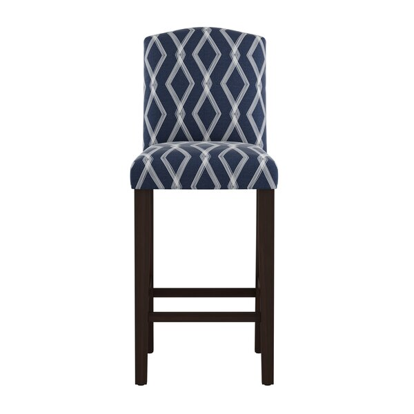 Edford Arched Crossweave 31 Bar Stool by Wrought Studio