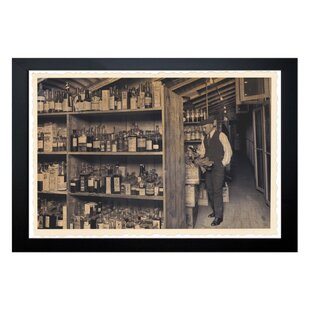 The Art Cabinet All Those Old Bottles Framed Photographic Print