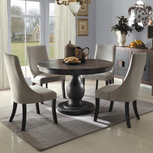Dining Table Chairs Set Cheap round kitchen & dining room sets you'll love | wayfair