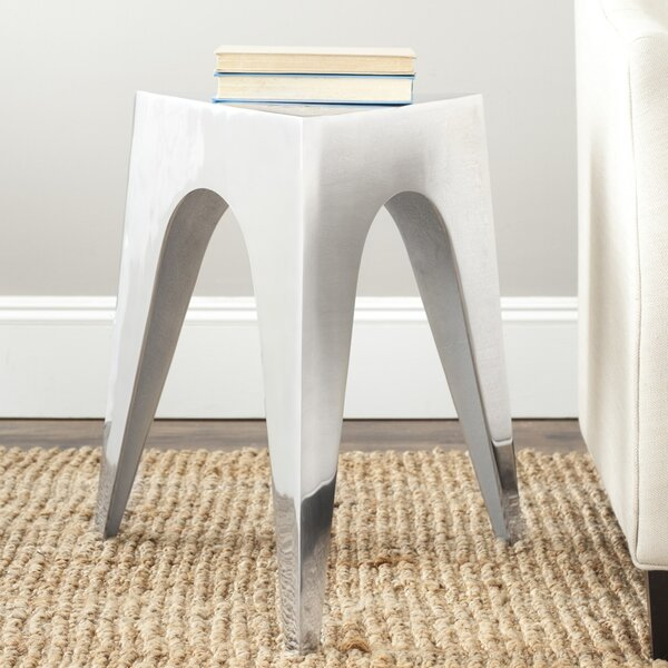 Schutt Triangle End Table by Modern Rustic Interiors