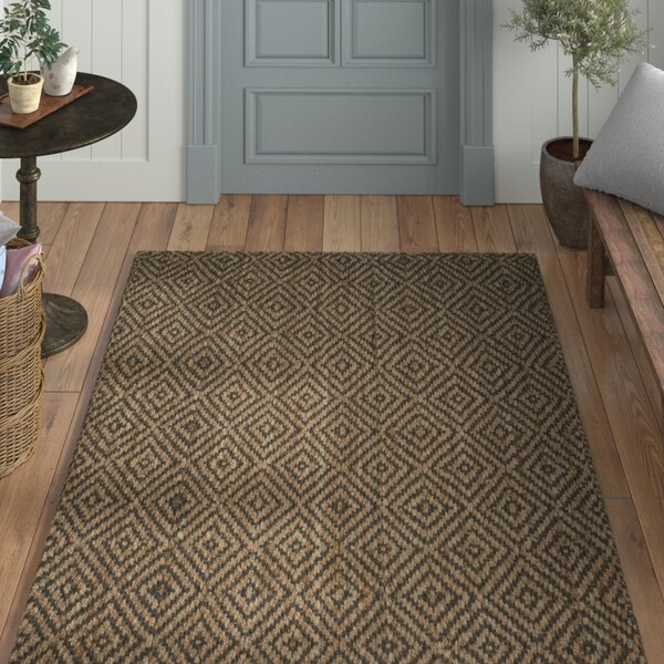 Grassmere Hand-Woven Natural/Grey Area Rug by Laurel Foundry Modern Farmhouse