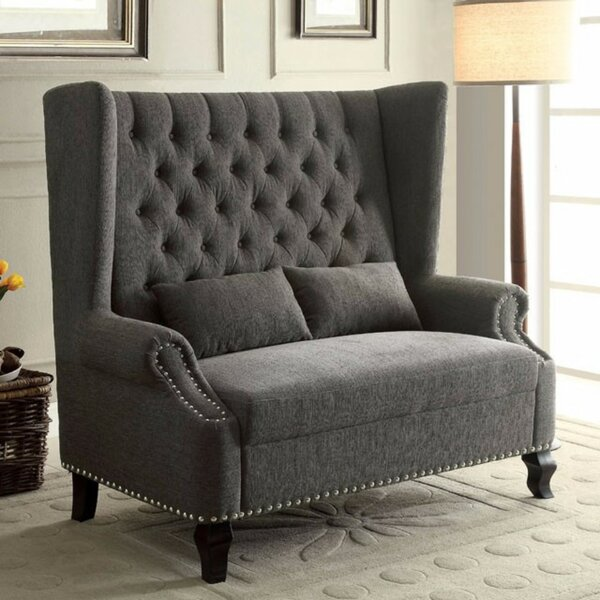 Robey Romantic Loveseat by Charlton Home Charlton Home