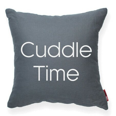 Expressive Cuddle Time Decorative Throw Pillow by Posh365