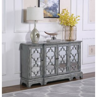 Burress 4-Door Accent Cabinet