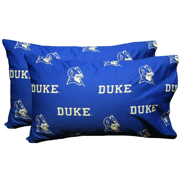 Collegiate NCAA Duke Blue Devils Pillowcase (Set of 2) by College Covers