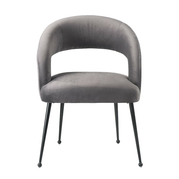 Newark Upholstered Dining Chair by Everly Quinn