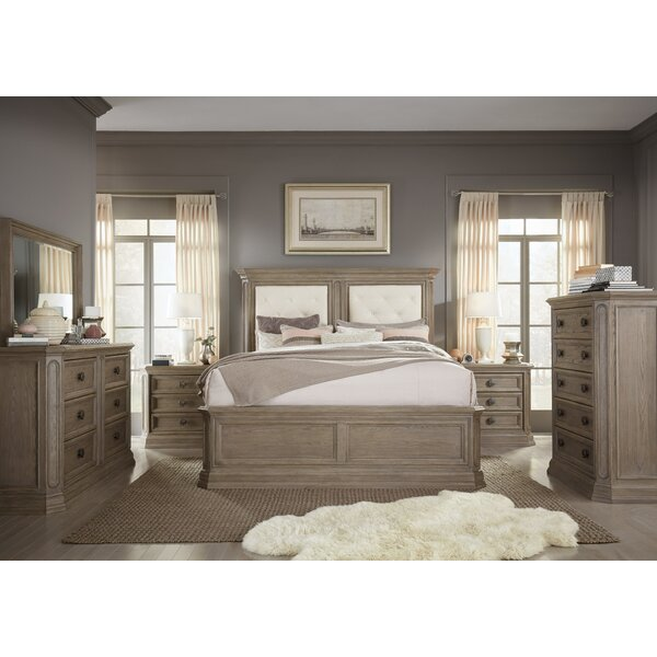 Thaxted Upholstered Standard Configurable Bedroom Set by Darby Home Co