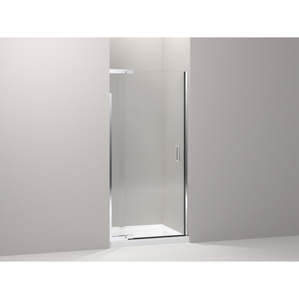 Purist 36 x 72 Pivot Shower Door with CleanCoat® Technology by Kohler
