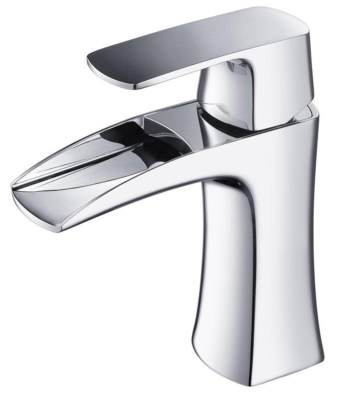 Fresca Fortore Deck Mount Vanity Faucet & Reviews   Wayfair
