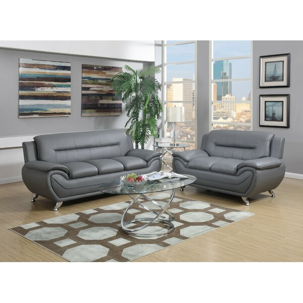 Coddington 2 Piece Living Room Set by Orren Ellis