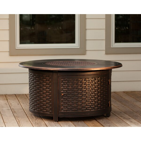 Florence Aluminum Propane Fire Pit Table by Fire Sense