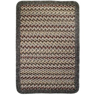 Vineyard Haven Sand Dunes/Brown Heather Border Indoor/Outdoor Area Rug By Thorndike Mills