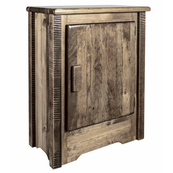 Abella Right Hinged 1 Door Accent Cabinet by Loon Peak Loon Peak