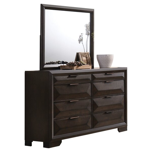 Lancelot 8 Drawer Double Dresser by Brayden Studio