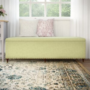 Ambler Fabric Storage Bench by Ophelia & Co.