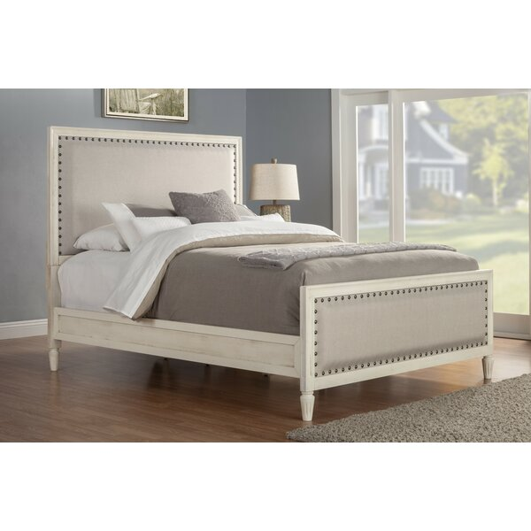 Shirke Upholstered Standard Bed by One Allium Way One Allium Way