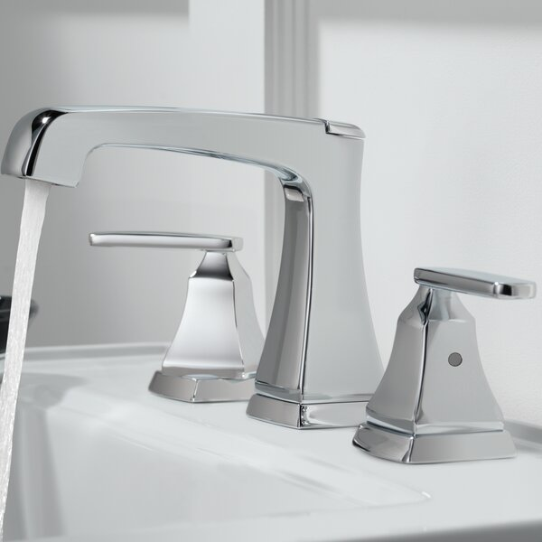 Ashlyn Widespread Bathroom Faucet Drain Assembly and Diamond Seal Technology by Delta