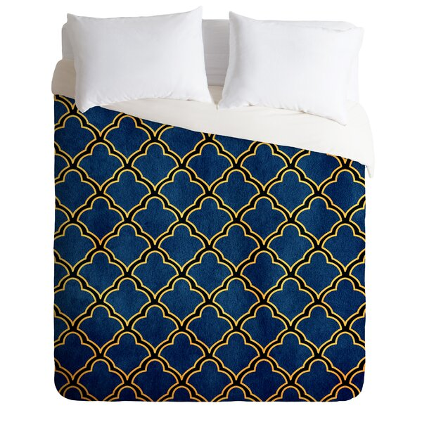 Lightweight Quatrefoil Duvet Cover Collection