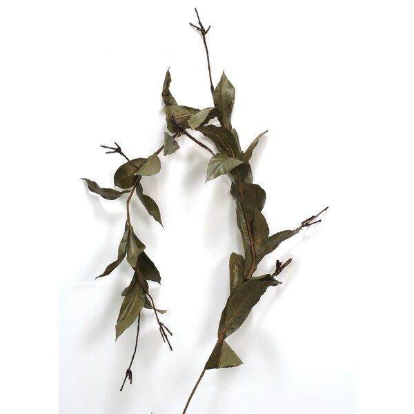 Rubber Leaf Garland (Set of 4) by Distinctive Designs