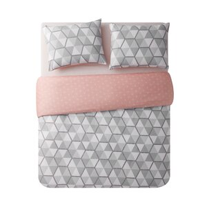 Vercher Printed Reversible Duvet Set